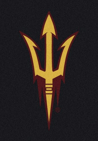 Arizona State Sun Devils College Team Spirit Area Rug