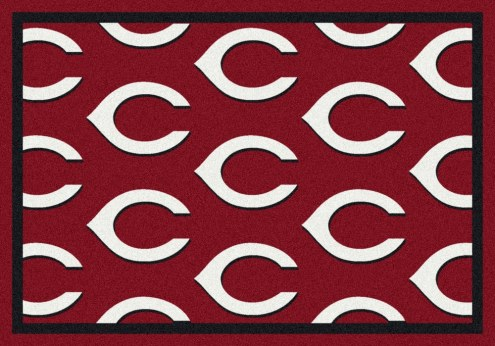 Cincinnati Reds MLB Repeat Area Rug