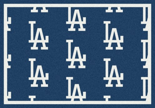 Los Angeles Dodgers MLB Repeat Area Rug