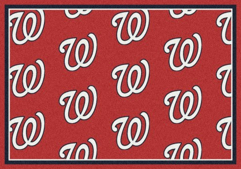Washington Nationals MLB Repeat Area Rug