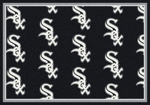 Chicago White Sox MLB Repeat Area Rug