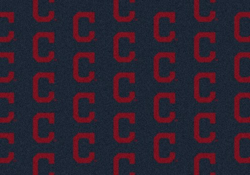 Cleveland Indians MLB Repeat Area Rug