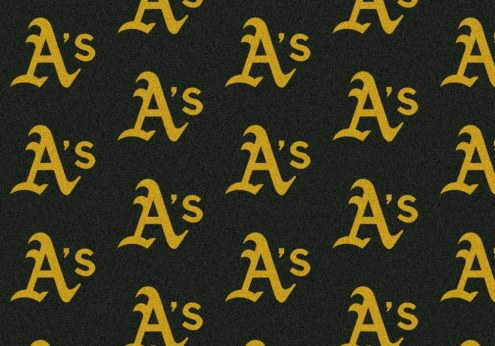 Oakland Athletics MLB Repeat Area Rug