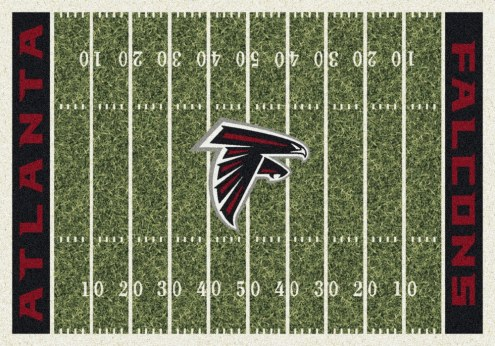 Atlanta Falcons NFL Home Field Area Rug