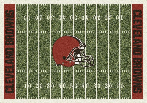 Cleveland Browns NFL Home Field Area Rug