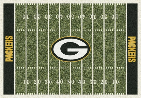 Green Bay Packers NFL Home Field Area Rug