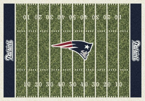 New England Patriots NFL Home Field Area Rug