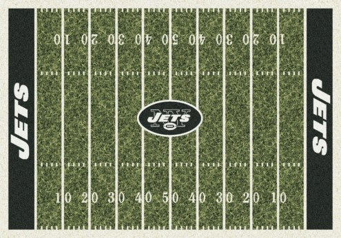 New York Jets NFL Home Field Area Rug
