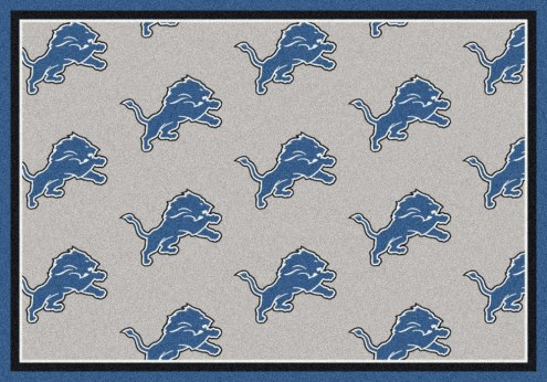 Detroit Lions NFL Repeat Area Rug