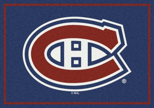 Montreal Canadiens NHL Team Spirit Area Rug