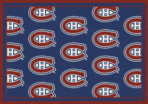 Montreal Canadiens NHL Repeat Area Rug