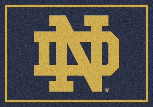 Notre Dame Fighting Irish College Team Spirit Area Rug