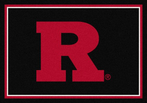 Rutgers Scarlet Knights College Team Spirit Area Rug