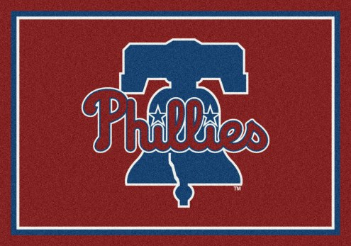 Philadelphia Phillies MLB Team Spirit Area Rug
