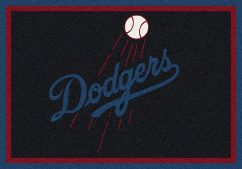 Los Angeles Dodgers MLB Team Spirit Area Rug