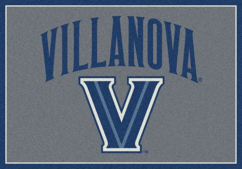 Villanova Wildcats College Team Spirit Area Rug