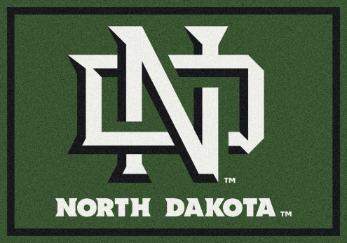 North Dakota State Bison College Team Spirit Area Rug