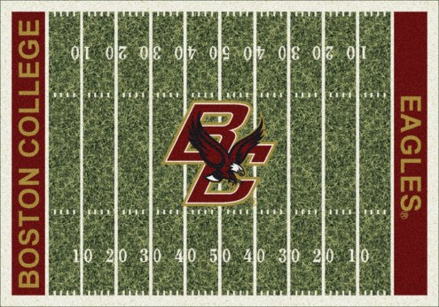 Boston College Eagles College Home Field Area Rug