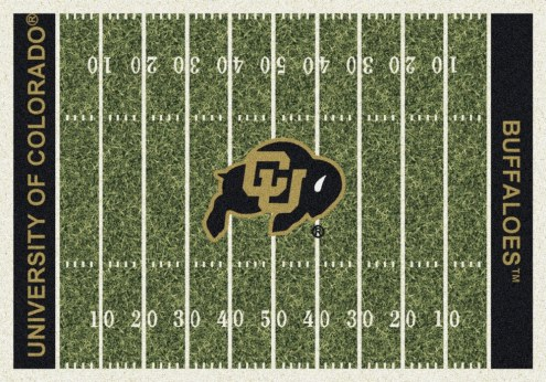 Colorado Buffaloes College Home Field Area Rug