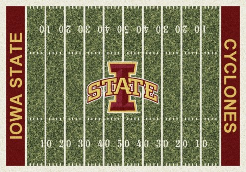 Iowa State Cyclones College Home Field Area Rug