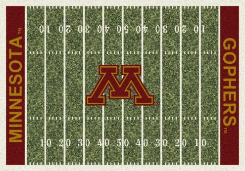 Minnesota Golden Gophers College Home Field Area Rug