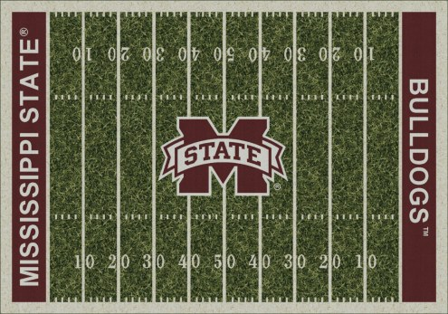 Mississippi State Bulldogs College Home Field Area Rug