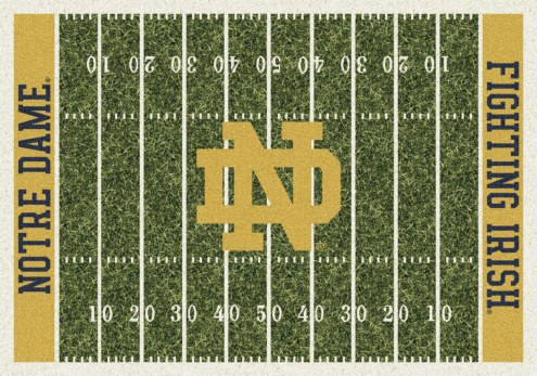Notre Dame Fighting Irish College Home Field Area Rug