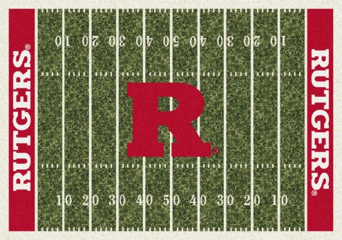 Rutgers Scarlet Knights College Home Field Area Rug