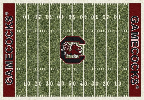 South Carolina Gamecocks College Home Field Area Rug