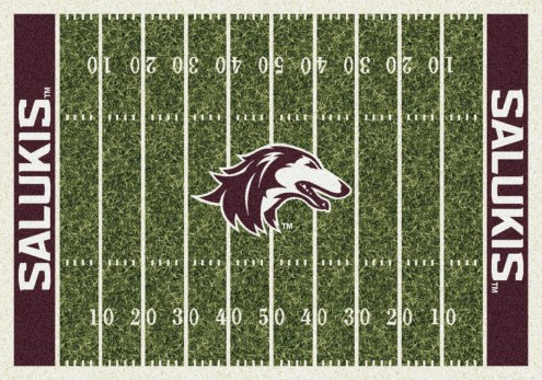 Southern Illinois Salukis College Home Field Area Rug