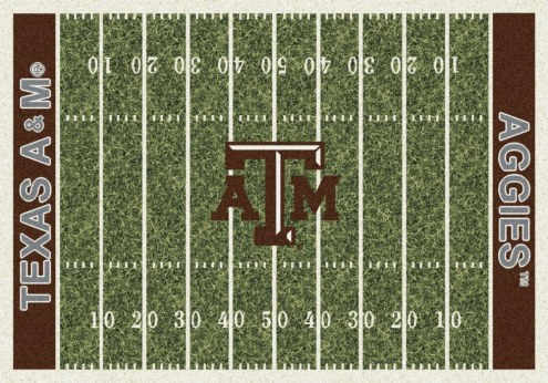 Texas A&M Aggies College Home Field Area Rug
