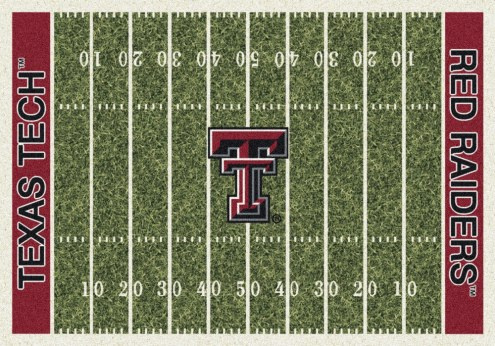 Texas Tech Red Raiders College Home Field Area Rug