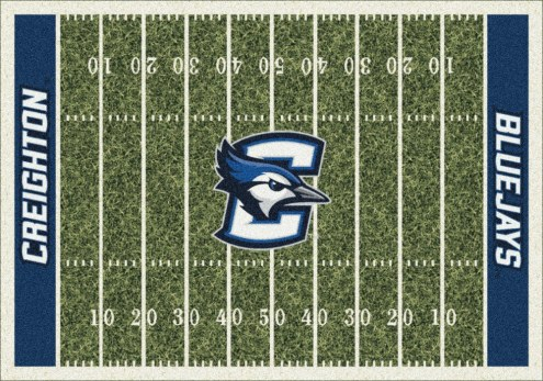 Creighton Bluejays College Home Field Area Rug