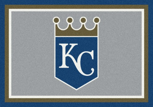Kansas City Royals MLB Team Spirit Area Rug