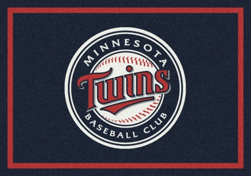 Minnesota Twins MLB Team Spirit Area Rug