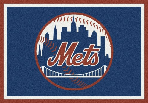 New York Mets MLB Team Spirit Area Rug