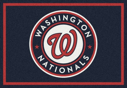 Washington Nationals MLB Team Spirit Area Rug
