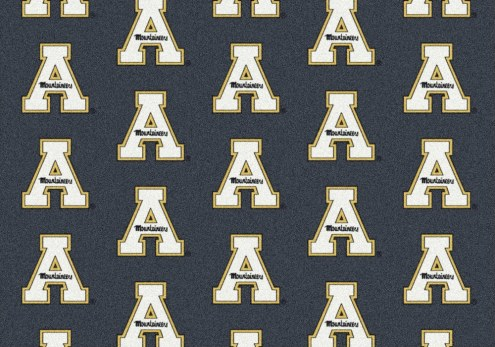Appalachian State Mountaineers College Repeat Area Rug