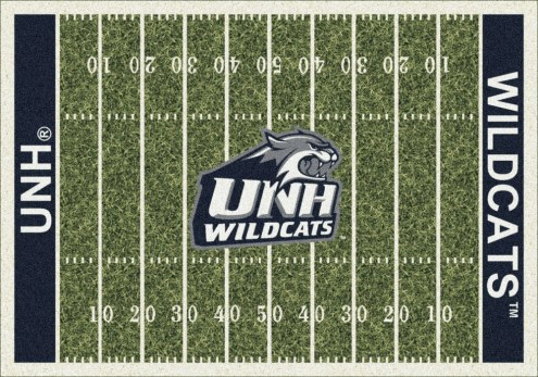 New Hampshire Wildcats College Home Field Area Rug