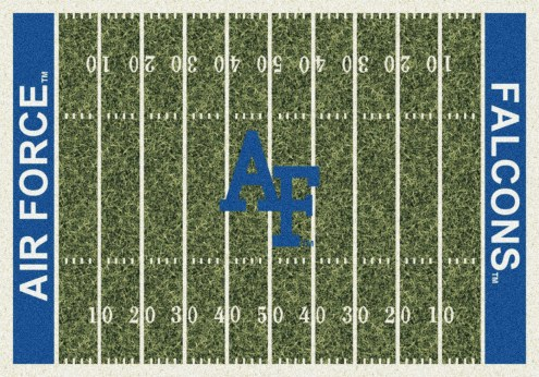 Air Force Falcons College Home Field Area Rug