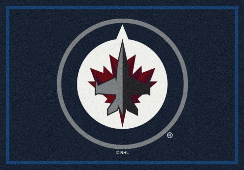Winnipeg Jets NHL Team Spirit Area Rug