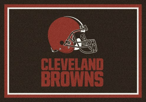 Cleveland Browns NFL Team Spirit Area Rug