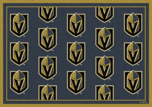 Vegas Golden Knights NHL Repeat Area Rug