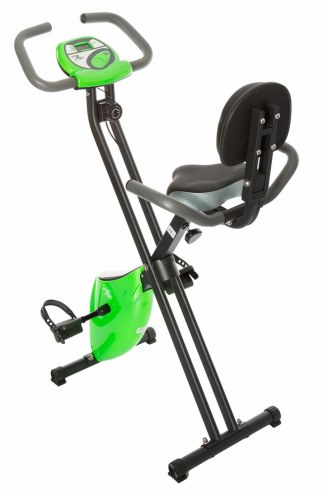 Fit Life Folding Magnetic Resistance Exercise Bike