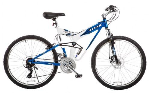"""Titan Fusion Pro 19"""" Dual Suspension Mountain Bike"""