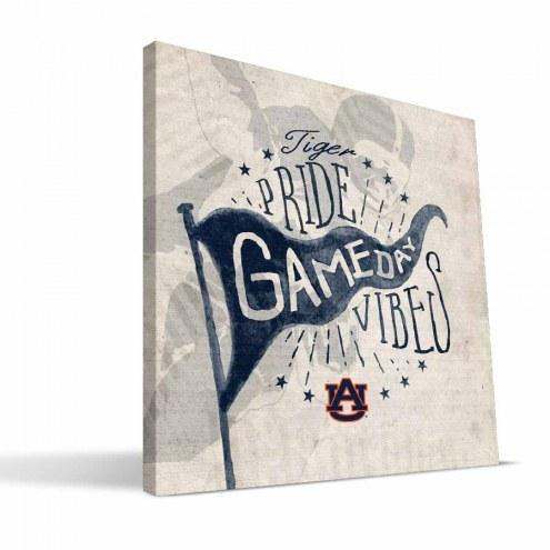 Auburn Tigers Gameday Vibes Canvas Print