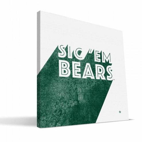Baylor Bears Shade Canvas Print