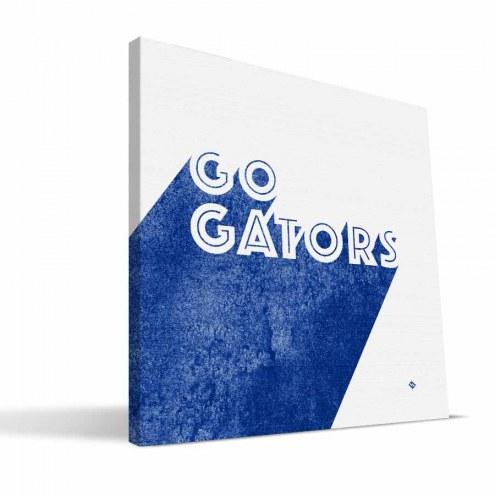 Florida Gators Shade Canvas Print