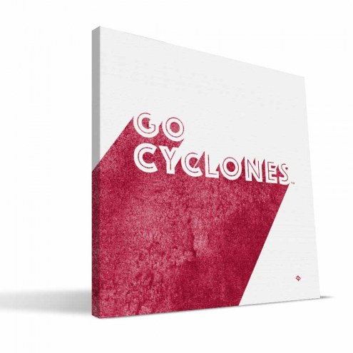 Iowa State Cyclones Shade Canvas Print