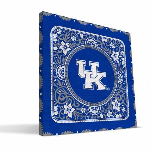 Kentucky Wildcats Eclectic Canvas Print